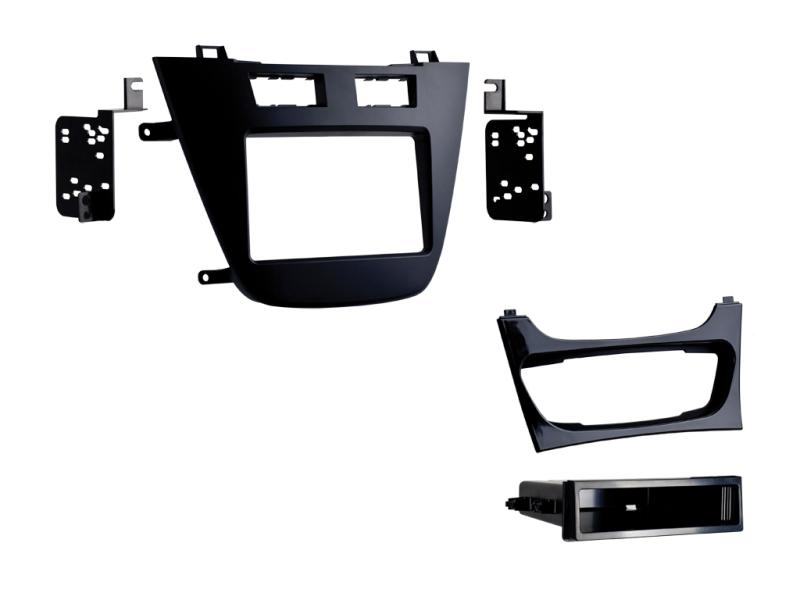 2-DIN ramme til Opel Insignia 2008-2013, sort.