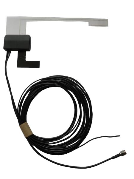 Aktiv rudeantenne til DAB digitalradio. Er med SMA konnektor