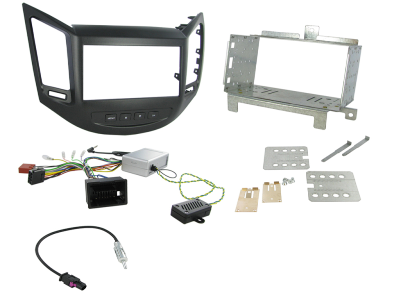2-DIN kit Sort ramme Chevrolet Orlando 2011<