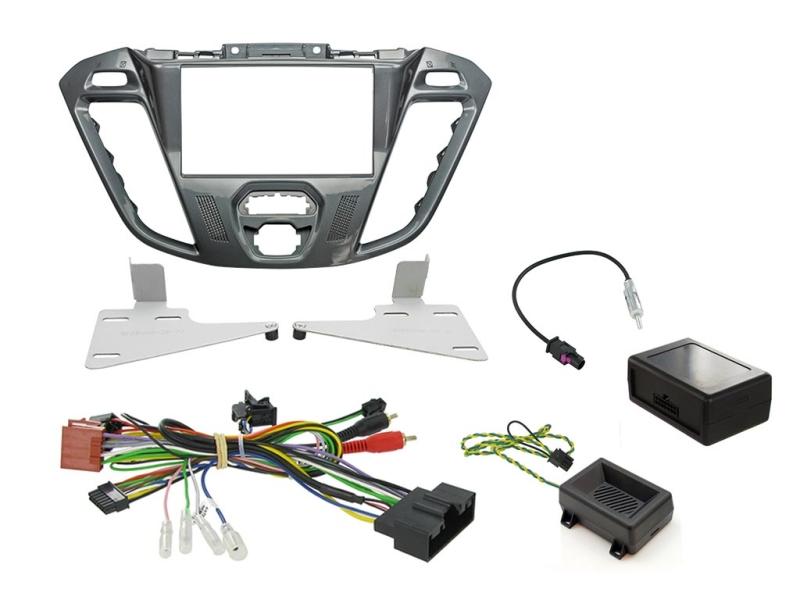 2-DIN kit  Pegasus ramme, Ford Transit Custom 2012>