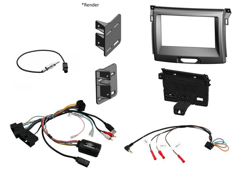 Komplet kit til Ford Ranger 2015-