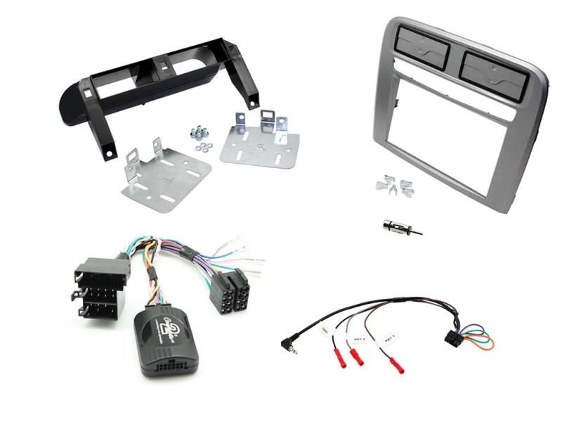 Komplet 2-DIN kit til Fiat Grande Punto 2005-2009.