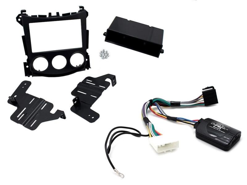 Komplet 1 og 2-DIN kit til Nissan 370Z 2009- med standard ly