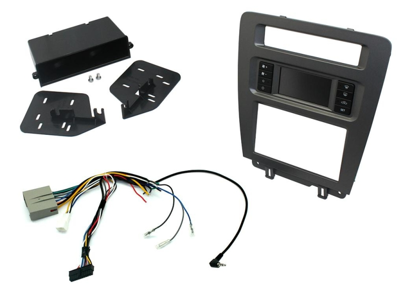 2-DIN pro kit til Ford Mustang 2010-2014.