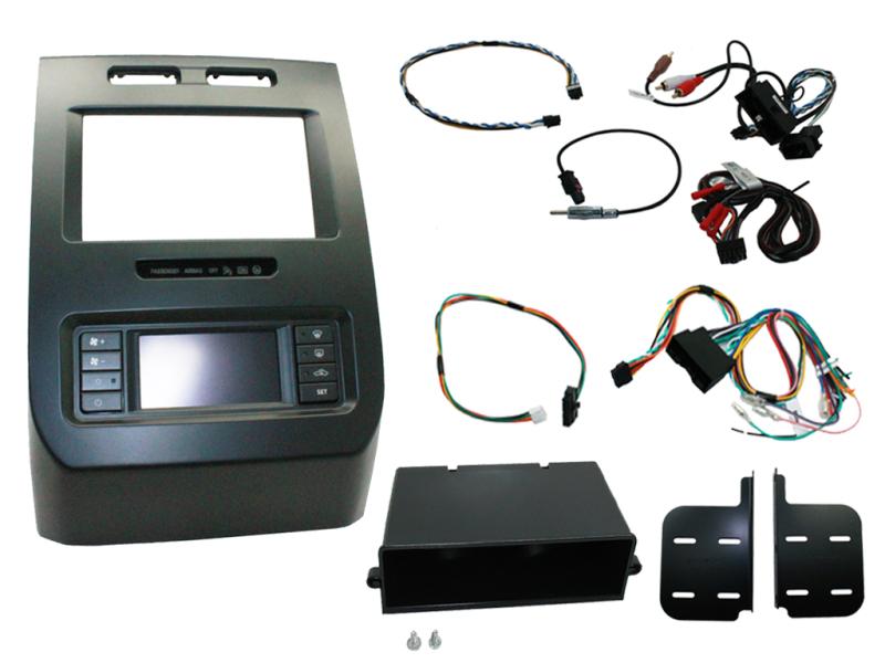 2-DIN pro kit til Ford F150 2015- med enkelt zone klima.