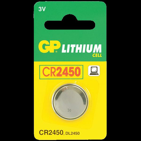 CR2450 3V til SAPHE & Parkeringsure