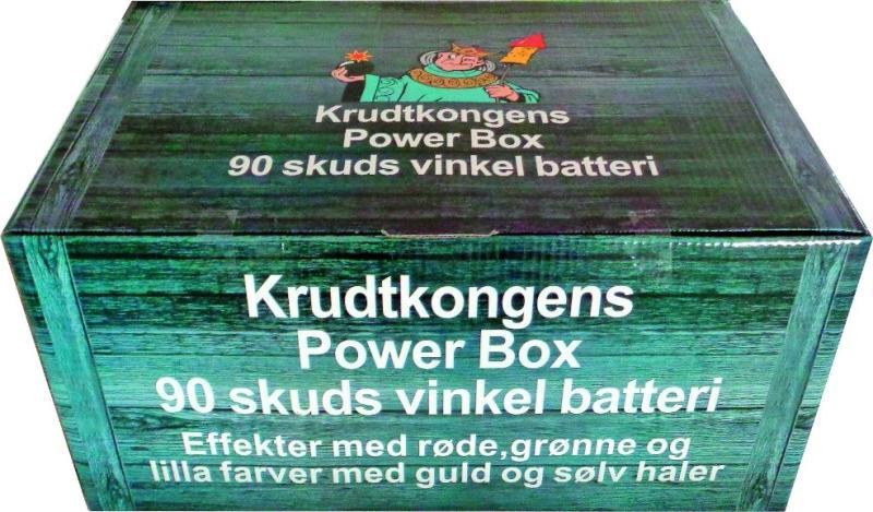 KRUDTKONGENS POWER BOX