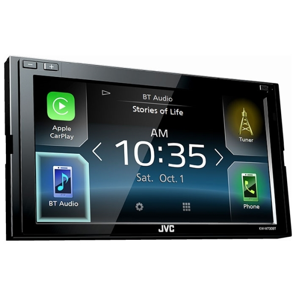 JVC KWM730BT CARPLAY & ANDROID