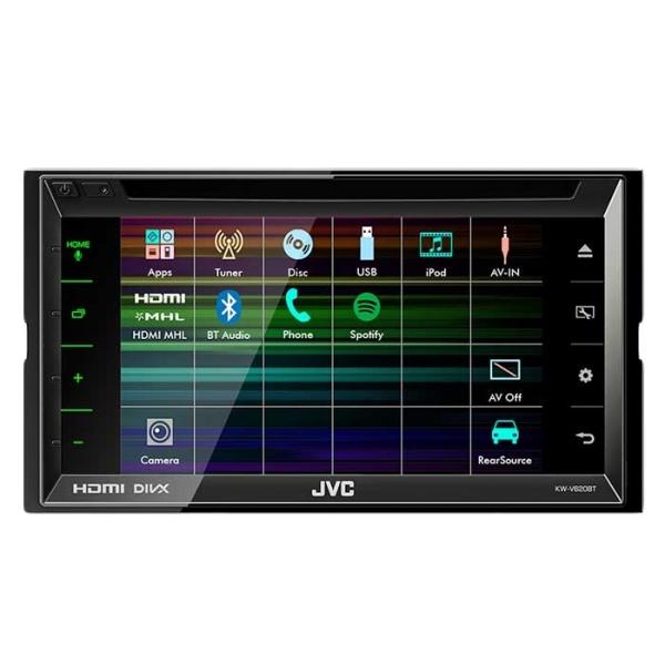 JVC KW-V620BTE2 DIN CD/RDS TUNER, BLUETOOTH