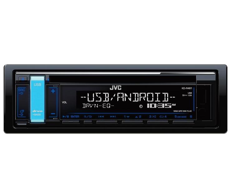 JVC KD-R481 CD/RDS TUNER ORANGE LYS