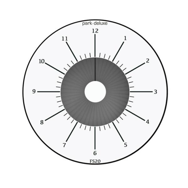 PARK DELUXE HVID P-UR (FS20)