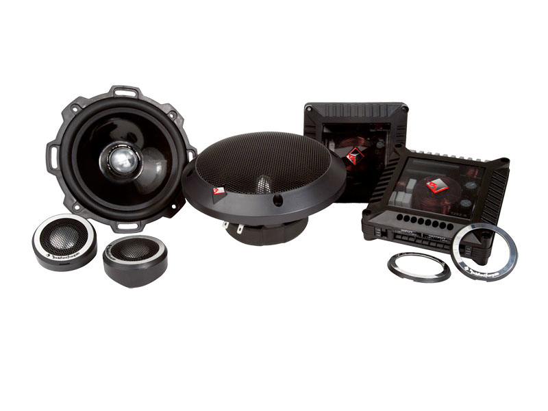 Rockford Fosgate T252-S Power T2 højt.splitsæt 5.25""