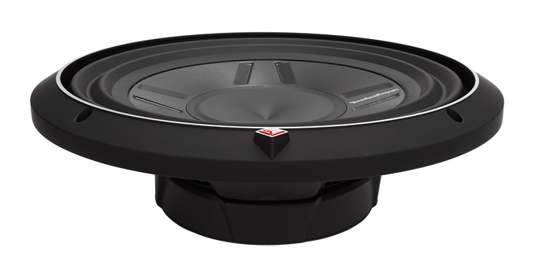"Rockford Fosgate P3SD2-12 subwoofer DVC 12"" shallow"