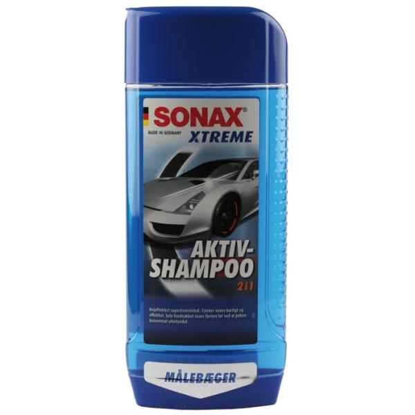 SONAX XTREME AKTIVSHAMPOO 2-I-1 500ML