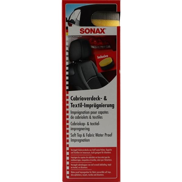 SONAX TEKSTIL/KALECHE IMPRÆGNERING 300ML