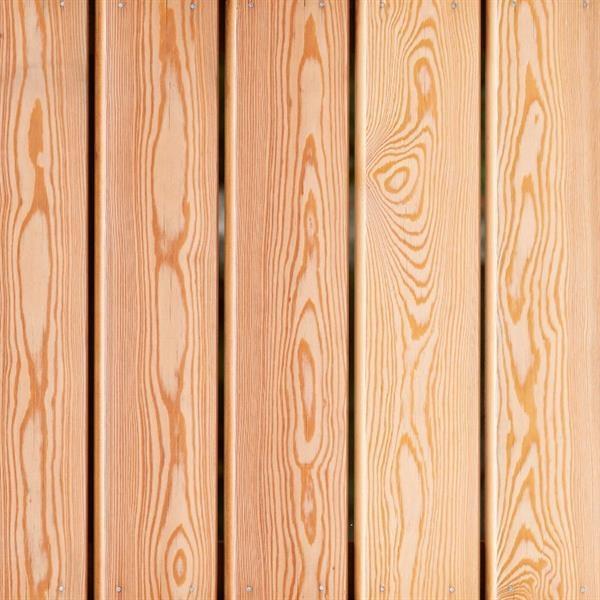 Sibirisk lærketræ bekældning, kan tilkøbes til alle modeller