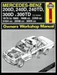 Værkstedshåndbog Mercedes W123