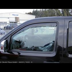 Vindafviser Nissan Navara Dobb kabine (2005->US)