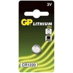 Batteri GP CR 1220 1 stk.