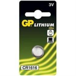 Batteri GP CR 1616 1 stk.