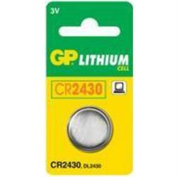Batteri GP CR 2430 1 stk.