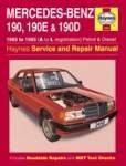 Værkstedshåndbog Mercedes 190