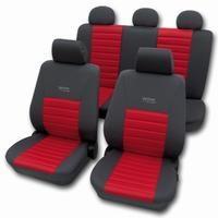 Active sport rød komplet sæde betræk