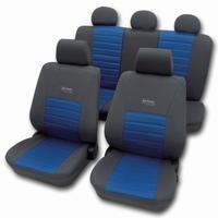 Active sport blå komplet sæde betræk