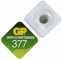 Batteri GP SR66, 1,55 V377,UrBatteri Silveroxid (XT 23001)