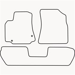 Skræddersyet Måttesæt til Citroën Berlingo Multispace fra 20