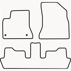 Skræddersyet Måttesæt til Citroën C4 Picasso 5 personers fra