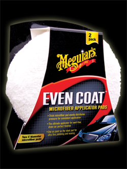 Meguiar's Even Coat Microfiber Applicator Pad 2 pak
