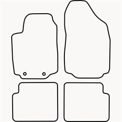 Skræddersyet Måttesæt til Fiat Stilo 3/5 dørs fra 2001-2008