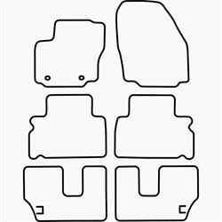 Skræddersyet Måttesæt til Ford Galaxy II 7 personers fra 200