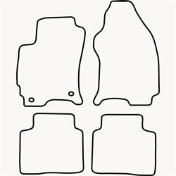 Skræddersyet Måttesæt til Ford Mondeo fra 2000-2007