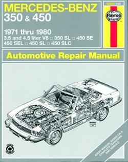 Værkstedshåndbog Mercedes 350 + 450