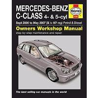 Værkstedshåndbog Mercedes C-Klasse W203