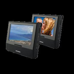 """Nextbase 7"""" Skærmsæt med 2 DVD afspiller"""