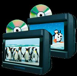 """Nextbase 9"""" Skærmsæt med 2 DVD afspiller"""