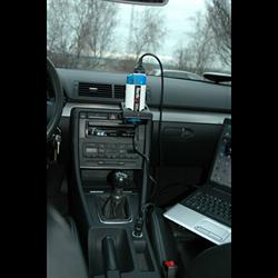 Omformer 12-230 volt 150 Watt med USB stik