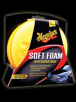 Meguiar's Soft Foam Applicator Pad 2 pak