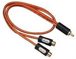 YH1 phono fordeler, 1han - 2hun, CH kabel
