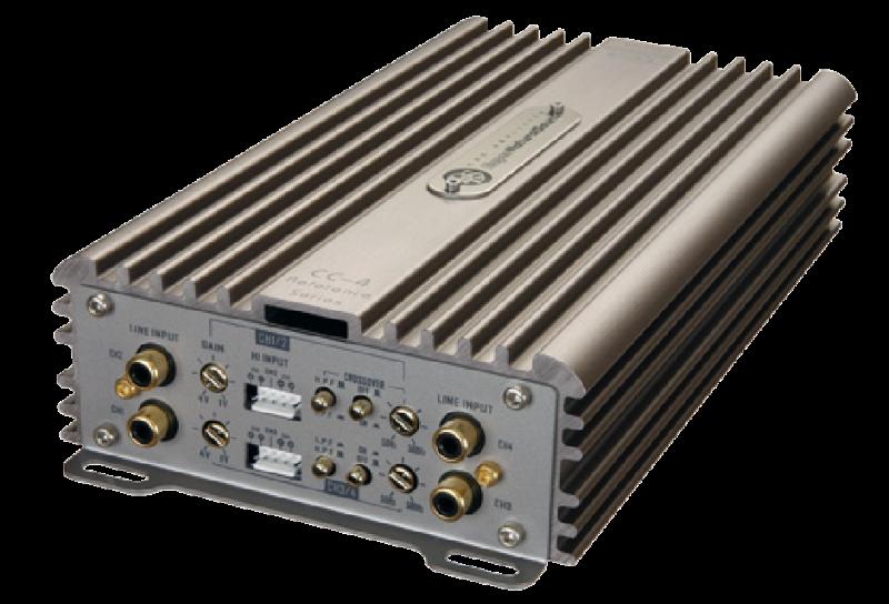 4 ch.  Amplifier 4x50W