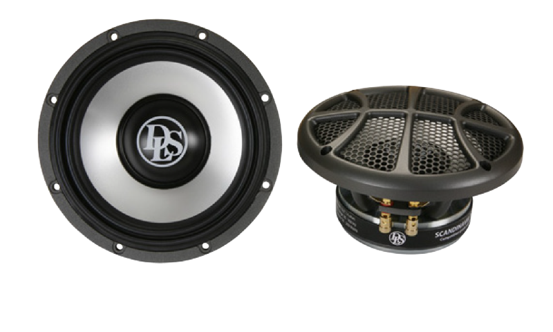 Scandinavia 165W, 6,5 inch woofer for 3-way, pair