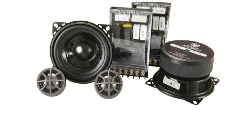 RC4.2   4 inch 2-way kit, Reference, 25 mm tweeter