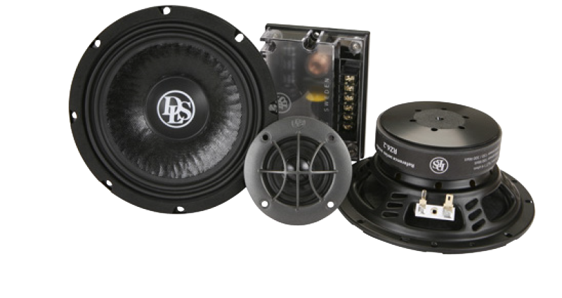 RZ6.2, 2-waykit, 6.5 inch with 2 inch tweeter
